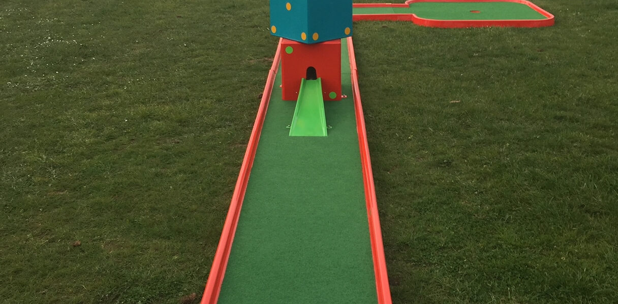 Crazy Golf at The Notleys Golf Club
