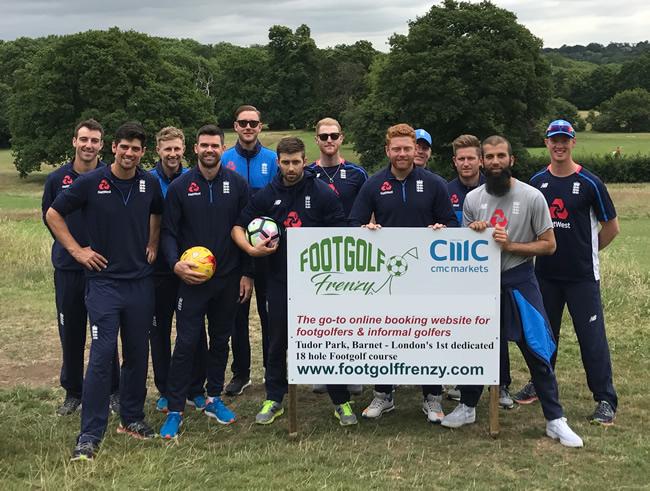 England-Cricket-Team-Barnet-Footgolf