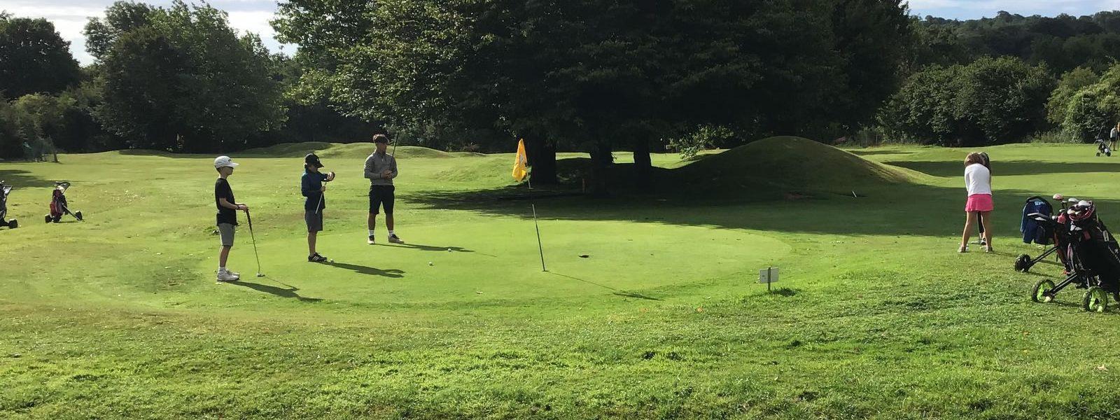 Cayman Golf Pitch and Putt 18 Hole Short Course Brixham Devon