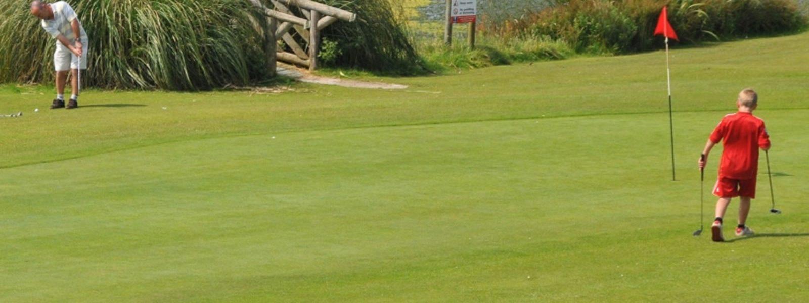 Holywell Bay Golf Newquay Cornwall