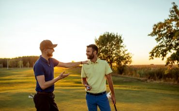 A golf discussion